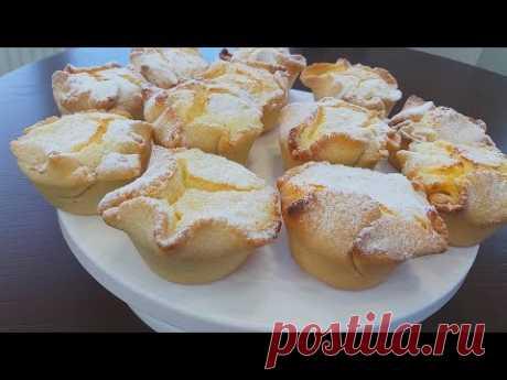 Итальянские Пирожные Соффиони.Нежнейшие Творожные Вкусняшки!