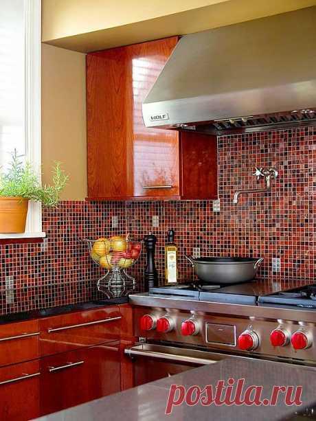 Красивые идеи оформления кухонного фартука | Наш уютный дом