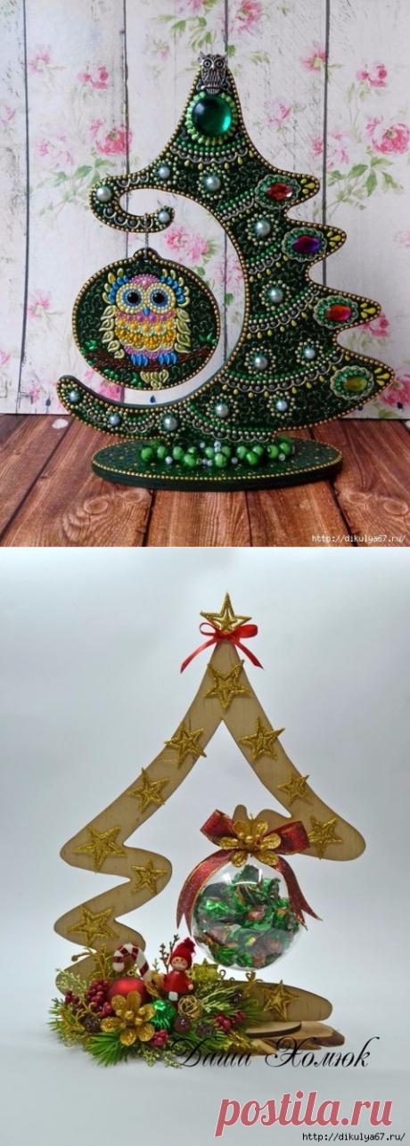 НЕСТАНДАРТНАЯ ЕЛОЧКА - запись пользователя Наталья (Наталья) в сообществе Новый год в категории новогодние подарки,поделки и костюмы