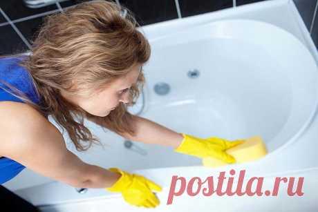 Без микробов и запаха: 8 эффективных приемов, которые помогут очистить ванную . Милая Я