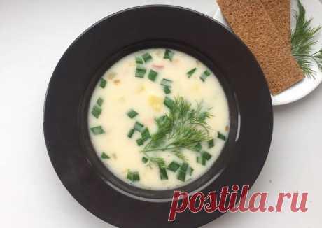 (3) Сырный суп - пошаговый рецепт с фото. Автор рецепта matil_food . - Cookpad