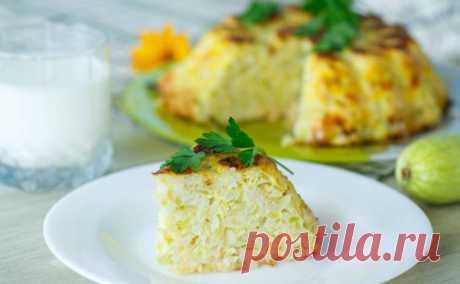 Запеканка из кабачков с сыром и рисом: пошаговый рецепт - tv.ua