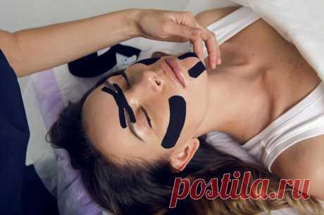 Тейпирование лица: чудо-процедура или обман косметологов? | Passion.ru