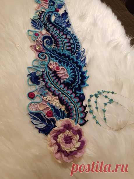 Модное вязание — 2.Изделия в работе,примеры раскладки. | OK.RU