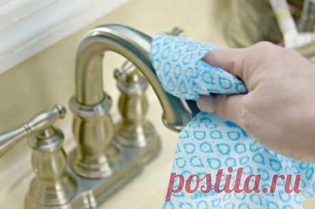 Как сделать многоразовые чистящие салфетки для ванной