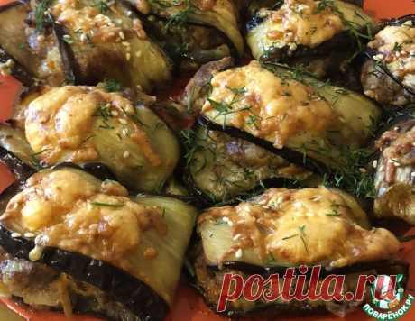 Баклажаны «Гениальные» – кулинарный рецепт