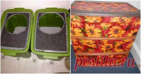 8 нестандартных идей использовать пластиковый контейнер ...
