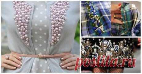 Всего-то горсть бусин, а в результате — красота. 20 идей декора одежды ...