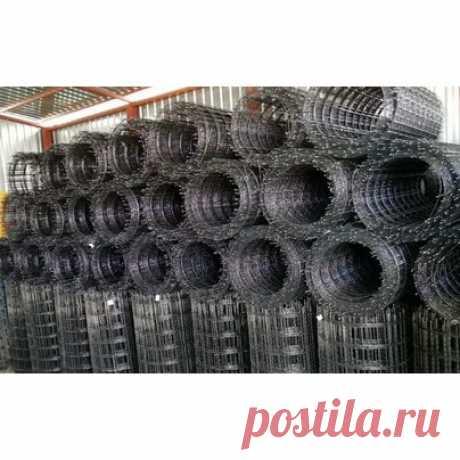 Сетка композитная стеклопластиковая 100х100х2,5 (аналог стальной 100х100х4) | Купить сетку армирующую в Минске, цена