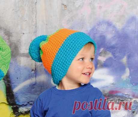 Шапки для мальчиков крючком: схемы для зимы и осени, для малышей и подростков, красивые и прикольные модели