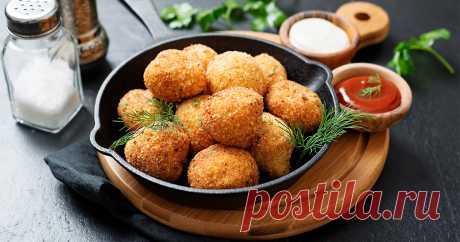 Картофельные шарики с грибами: пошаговый рецепт | SM.News