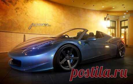 (89) Елена Петрова - Ferrari Italia Spyder