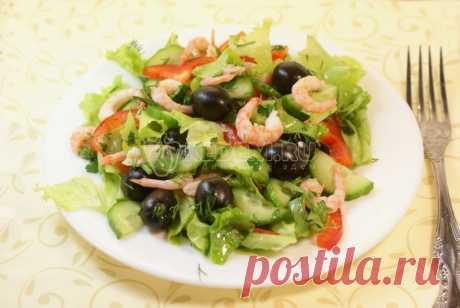 Салат «Брависсимо» – Рецепт с фото. Рецепты. Салаты. Салаты с рыбой и морепродуктами