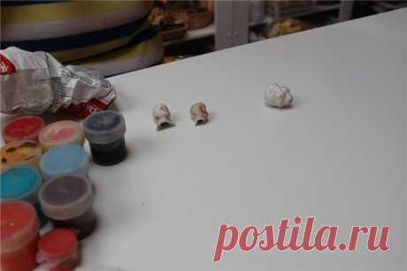 Как я училась делать ватные ёлочные игрушки своими руками / Игрушки из ваты своими руками / Бэйбики. Куклы фото. Одежда для кукол