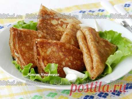 Рецепт блинов с картошкой от Натальи Имшенецкой Блины с картошкой, приготовленные по этому рецепту, - прекрасный альтернативный вариант жареных пирожков с картошкой. Блинчики получаются не такими жирными, но не менее вкусными.