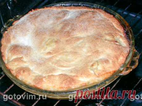 Яблочный пирог Татен. Рецепт с фото / Готовим.РУ
