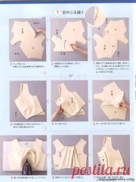 Подборка из японских журналов мод