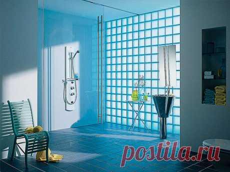 Области применения стеклоблоков | Жильё Моё