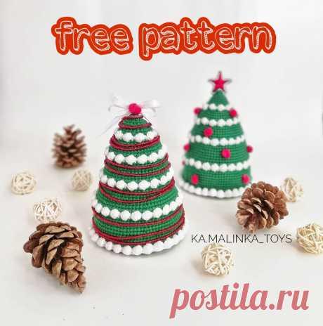 PDF Мастер-класс по вязанию новогодней елочки крючком #схемыамигуруми #амигуруми #вязаныеигрушки #вязанаяелка #amigurumipattern #crochetpattern