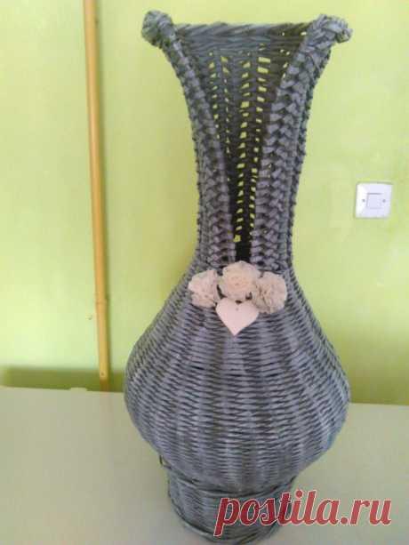 (3) Плетение из газет от Елены Тищенко