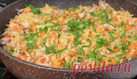 Очень вкусный ужин на скорую руку В этом рецепте мы познакомим вас с довольно интересным блюдом. Оно просто идеально подойдет к ужину, готовится очень просто и что называется «на скорую руку». Блюдо понравится всем...