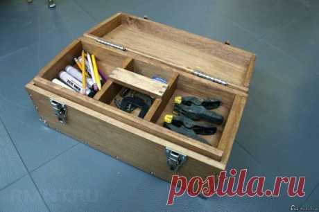 Ящик для инструмента - 4 варианта изготовления