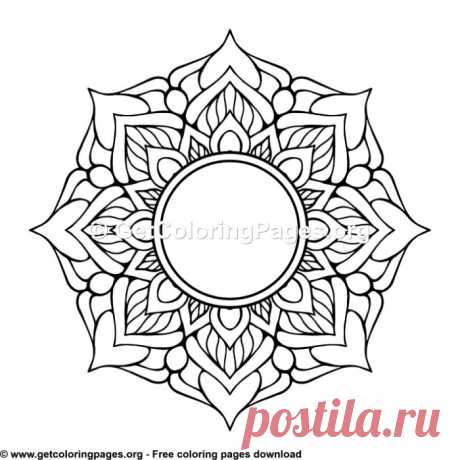 Ethic Style Mandala 16 Coloring Pages – GetColoringPages.org