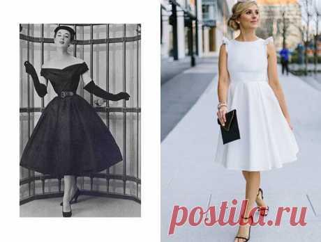 Современная классика: 10 крутых моделей платьев, которые будут популярны еще 100 лет В каждом десятилетии платье имело свои отличия. Эти черты мы все еще любим на современных платьях и не собираемся от них отказываться.
