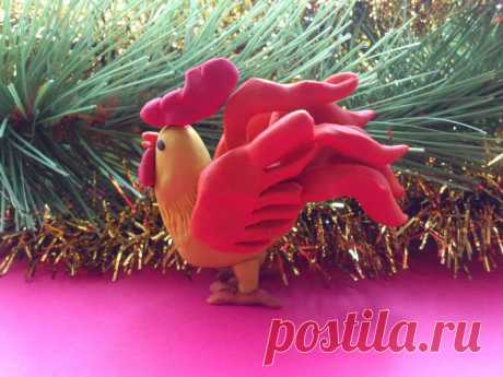 Петушок из пластилина - подробный мастер-класс » Женский Мир