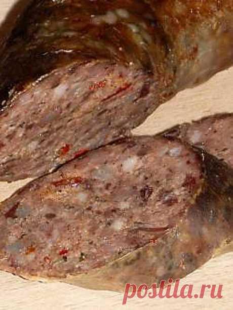 Бумбар /ливерная колбаса/ - болгарская кухня.