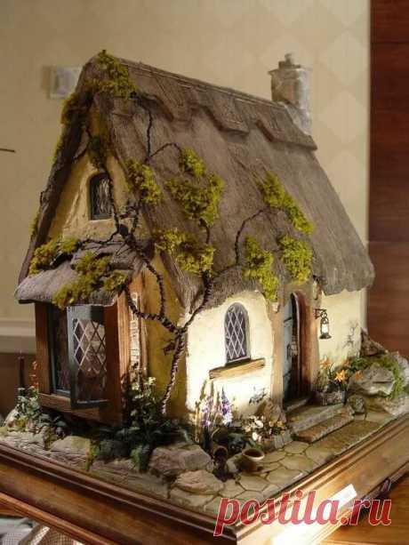 Как сделать декоративный домик самому | Пион Онлайн | Яндекс Дзен