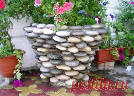 Wonderful jewelry of pebble: it is impossible to take away an eye! Whole 11 ideas | Korysno.PRO
