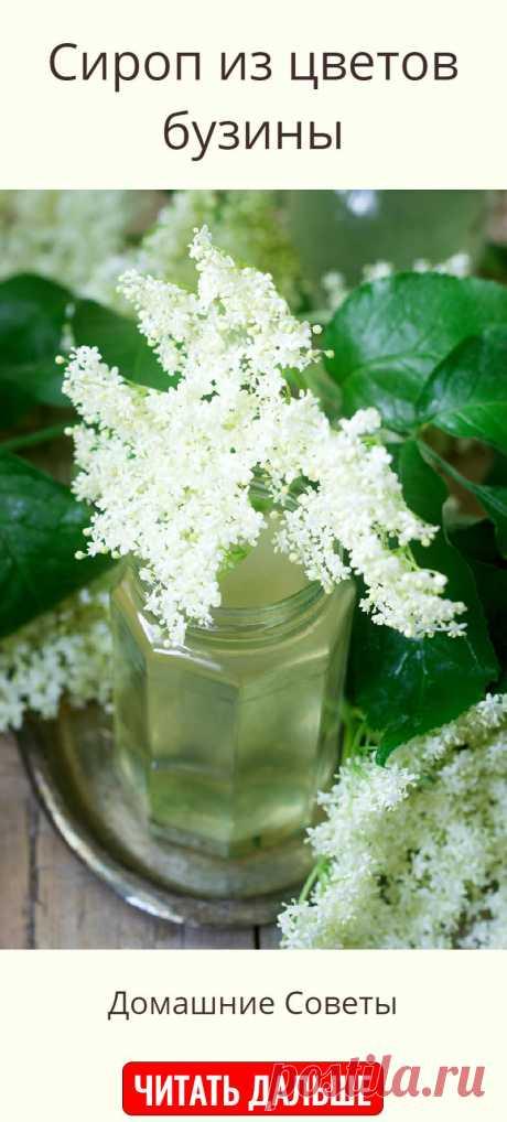 Сироп из цветов бузины