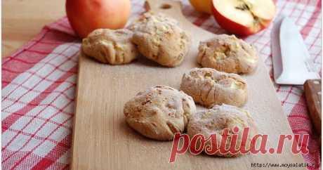 Ароматное яблочное печенье за 30 минут: безумно вкусно и очень просто!