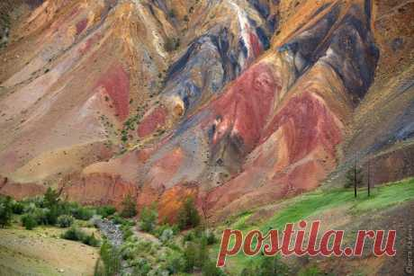 «Алтайский Марс». Кош-Агачский район Горного Алтая. Автор фото – Светлана Казина: