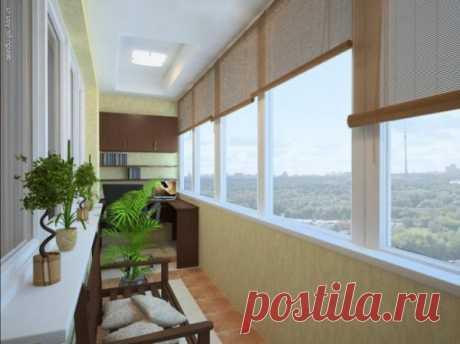 Стильные и уютные балконы и лоджии — Роскошь и уют