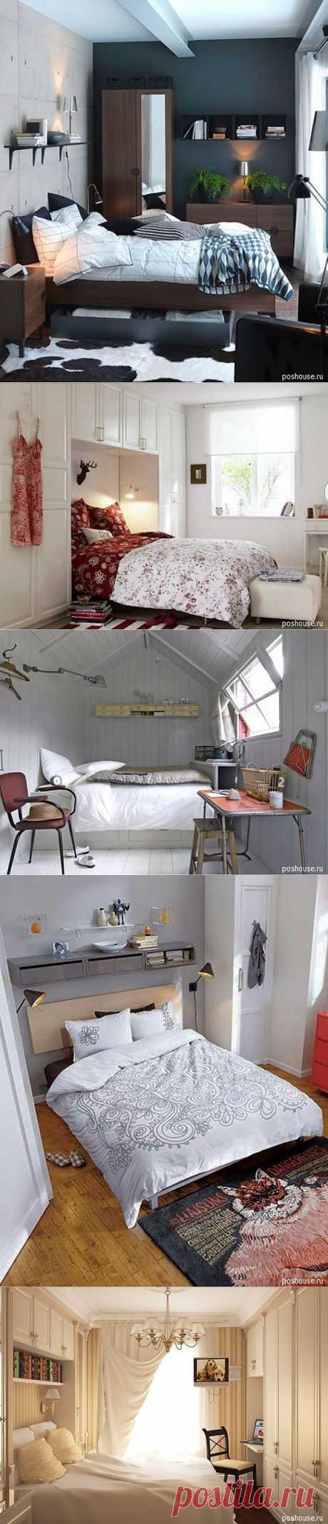 Идеи для маленькой спальни   УЮТНЫЙ ДОМ   советы