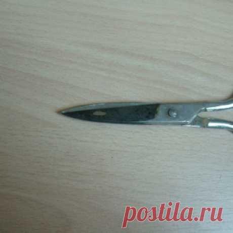 Как легко наточить ножницы