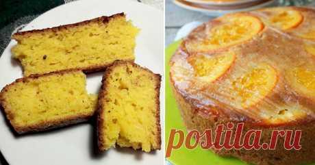Рецепт пирога из кафе в солнечном Портофино, апельсинового в духовке!