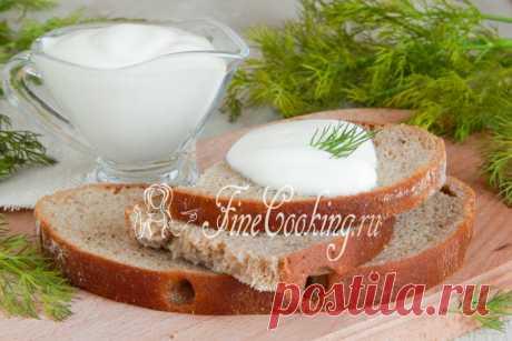 Майонез на молоке без яиц - рецепт