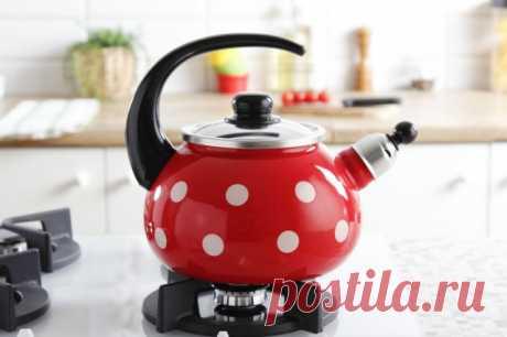 Как снять накипь в эмалированном чайнике — Полезные советы