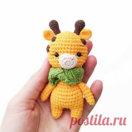 Схема вязания крючком маленького жирафа | Рекомендательная система Пульс Mail.ru