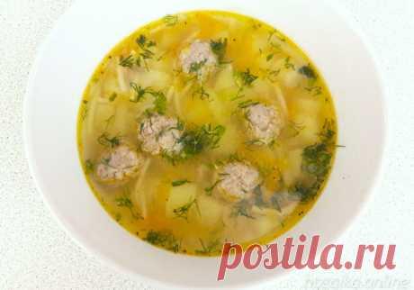 Суп с фрикадельками в мультиварке - мой пошаговый фоторецепт Вкуснейший домашний суп с фрикадельками и вермишелью в мультиварке. Попробуйте приготовить с помощью пошагового фоторецепта.