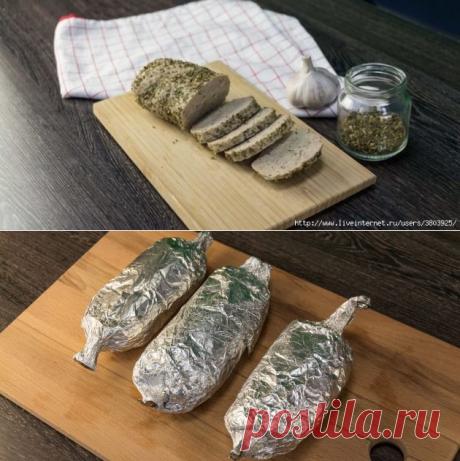 «Голая» домашняя колбаса: аппетитно, вкусно и совсем не стыдно ...