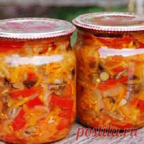 Грибная солянка на зиму | Самые вкусные кулинарные рецепты