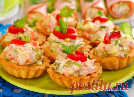 Stuffings for tartlets: 20 best recipes with a photo