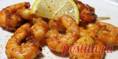 (+2) Креветки к пиву: соевый соус, чеснок и мед : Рыбные блюда : Кулинария : Subscribe.Ru