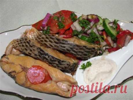 «Ленивая»,но очень вкусная рыбка : Рыбные блюда