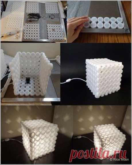 9 идей, что можно сделать из ненужных пластмассовых крышек
