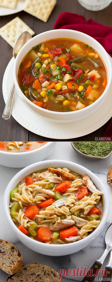 10 рецептов вкуснейших и низкокалорийных супов